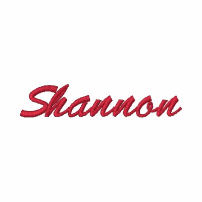 Embroidered Shirt Shannon Name Initial monogrammed Embroidered Shirt