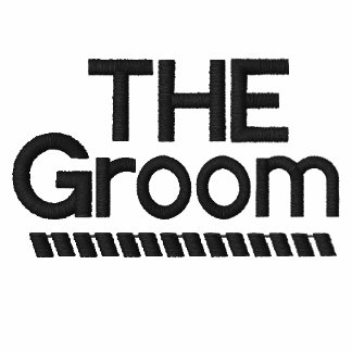 Embroidered Shirt - The Groom