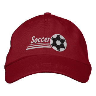 Embroidered Soccer Cap/Hat Embroidered Baseball Cap