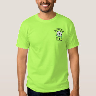 Embroidered soccer Dad T-shirt