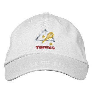 Embroidered Tennis Hat Embroidered Baseball Caps
