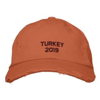 Embroidered Thanksgiving  - Change to Current Year Embroidered Baseball Hat