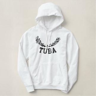 Embroidered Tuba Hoodie