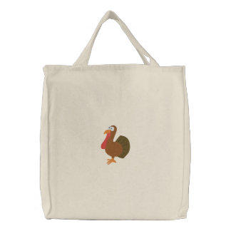 Embroidered Turkey Bag