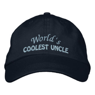 Embroidered Uncle Gift Embroidered Hat