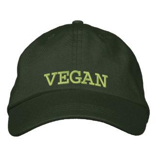 Embroidered Vegan Baseball Cap/Hat Cap