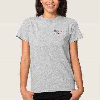 Embroidered Walrus Women T-Shirt