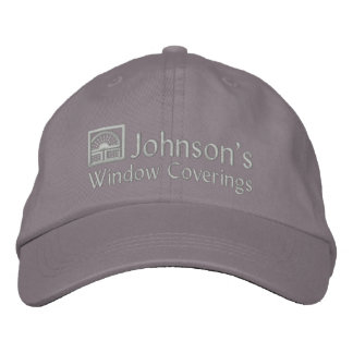 Embroidered Window Coverings Embroidered Baseball Hat