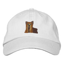 Embroidered Yorkie Hat