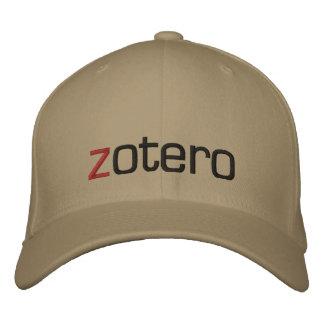 Embroidered Zotero Cap