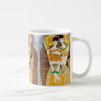 Embroideress Chen Yongle oriental abstract ladies Coffee Mug
