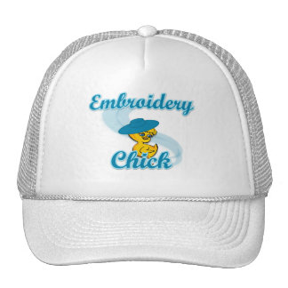Embroidery Chick #3 Trucker Hat