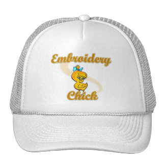 Embroidery Chick Trucker Hat