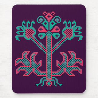 Embroidery design mouse pad