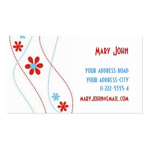 Embroidery Business Card Templates Bizcardstudio