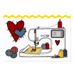 Embroidery - Fashion - Seamstress - SRF Large Business Cards (Pack Of 100)