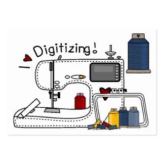 Embroidery - Fashion - Seamstress - SRF Large Business Card