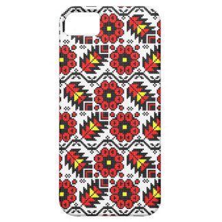 Embroidery Folklore Art cross-stitch floral flower iPhone SE/5/5s Case