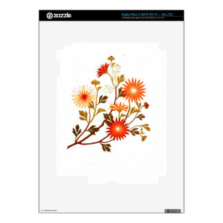 Embroidery pattern 1878 decals for iPad 3