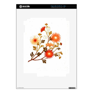 Embroidery pattern 1878 skin for iPad 2