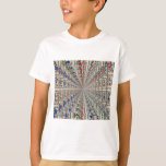 Embroidery Pattern Birds & Flowers T-Shirt
