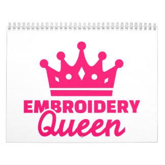 Embroidery Queen Calendar