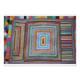 Embroidery Sampler Invitation