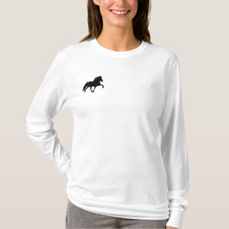 Embroidery Shaded Icelandic Embroidered Long Sleeve T-Shirt