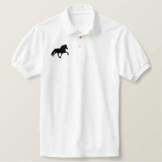 Embroidery Shaded Icelandic Embroidered Polo Shirt