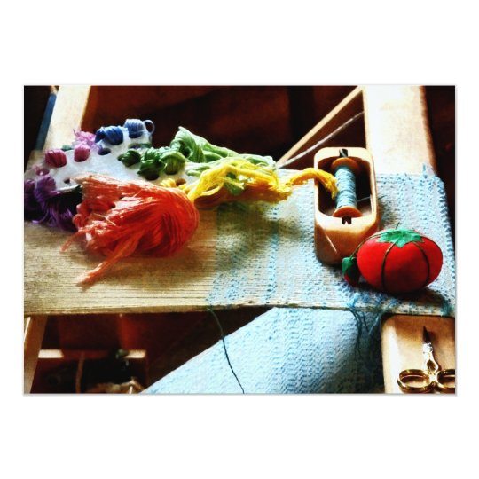 Embroidery Supplies Card