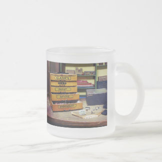 Embroidery Thread for Sale Frosted Glass Coffee Mug