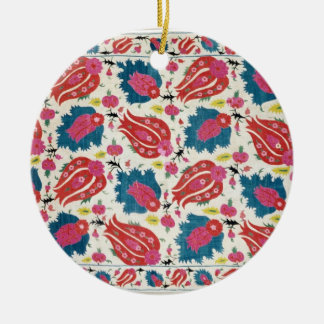 Embroidery, Turkish (textile) Ceramic Ornament