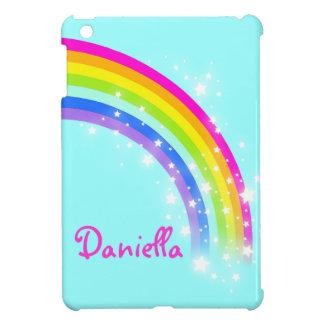 Embroma a los chicas nombrados ipad colorido de la iPad mini funda