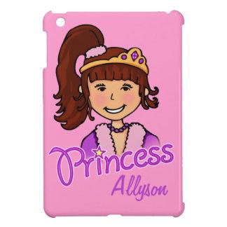 Embroma cubierta del ipad de la princesa del pelo iPad mini funda