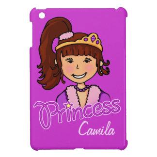 Embroma cubierta del ipad de la princesa del pelo iPad mini coberturas