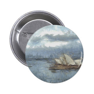 Embroma el dibujo del teatro de la ópera de Sydney Pin Redondo 5 Cm
