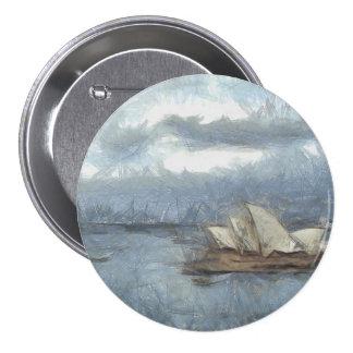 Embroma el dibujo del teatro de la ópera de Sydney Pin Redondo 7 Cm