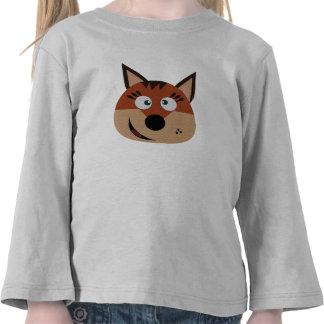 Embroma el puente femenino del zorro camisetas