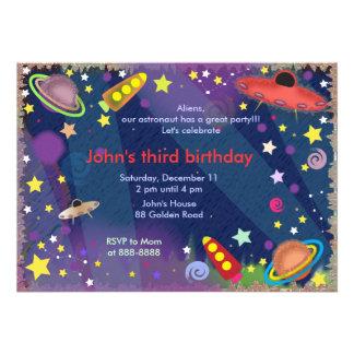 Embroma la invitación 047 del cumpleaños Espacio