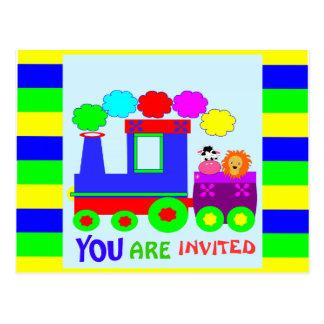 embroma la invitación divertida del cumpleaños del tarjetas postales