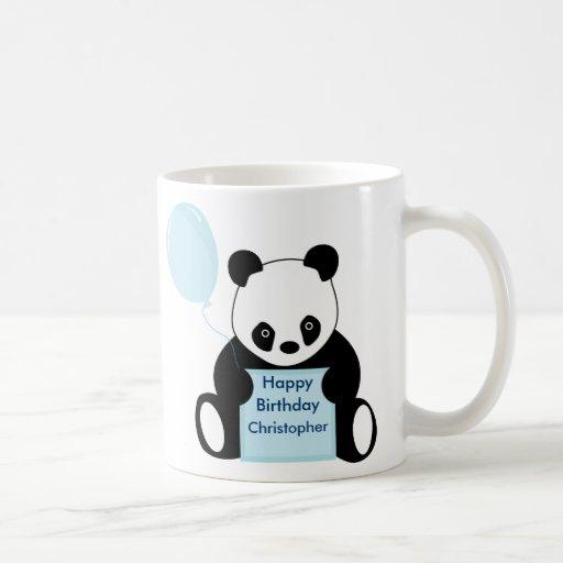 Embroma la taza conocida personalizada del feliz c