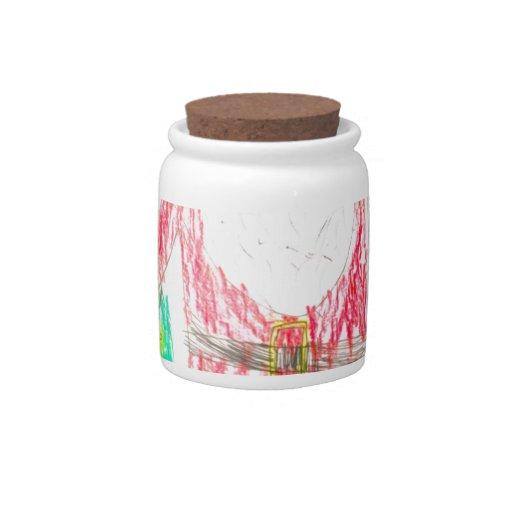 embroma los dibujos 6 jarras para caramelos