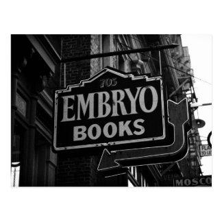 Embryo Books Postcard