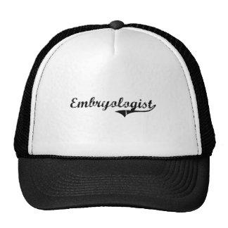 Embryologist Professional Job Hat