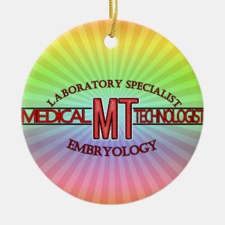 EMBRYOLOGY SPECIALIST LAB MT  MEDICAL TECHNOLOGIST CERAMIC ORNAMENT