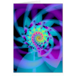 embryonic spiral greeting card