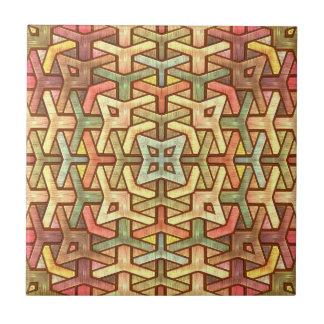Embutido de madera del arco iris azulejo ceramica
