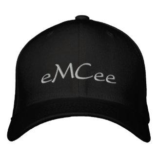 eMCee Black Hat Embroidered Hats