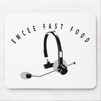 EMCEE FAST FOOD MOUSE PAD