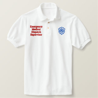 EMD DISPATCH EMBROIDERED POLO SHIRT